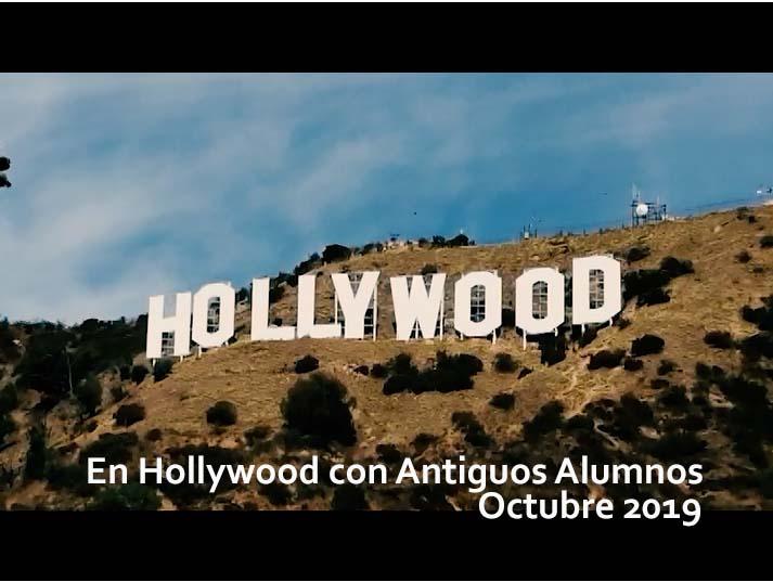 Con Antiguos Alumnos en Hollywood