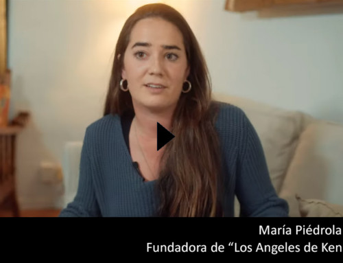 Maria Piédrola, Alumni, fundadora de «Los Angeles de Kenia»