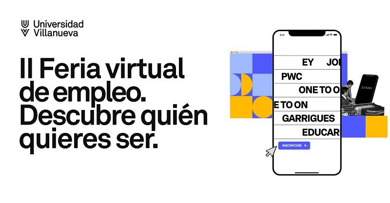 Agenda de presentaciones de empresa de la Feria Virtual de Empleo