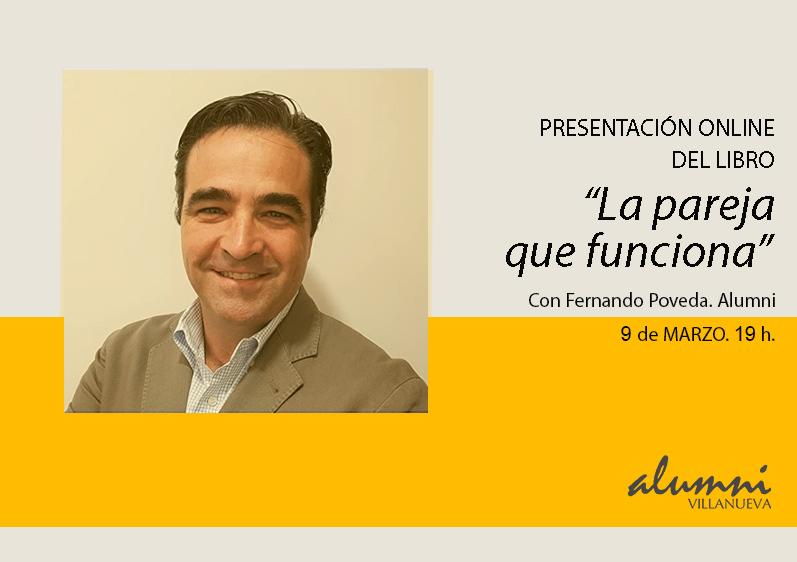 9 MARZO | Presentación del libro: «La pareja que funciona», de Fernando Poveda, Alumni.