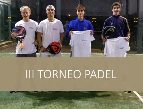 III Torneo de Padel Villanueva