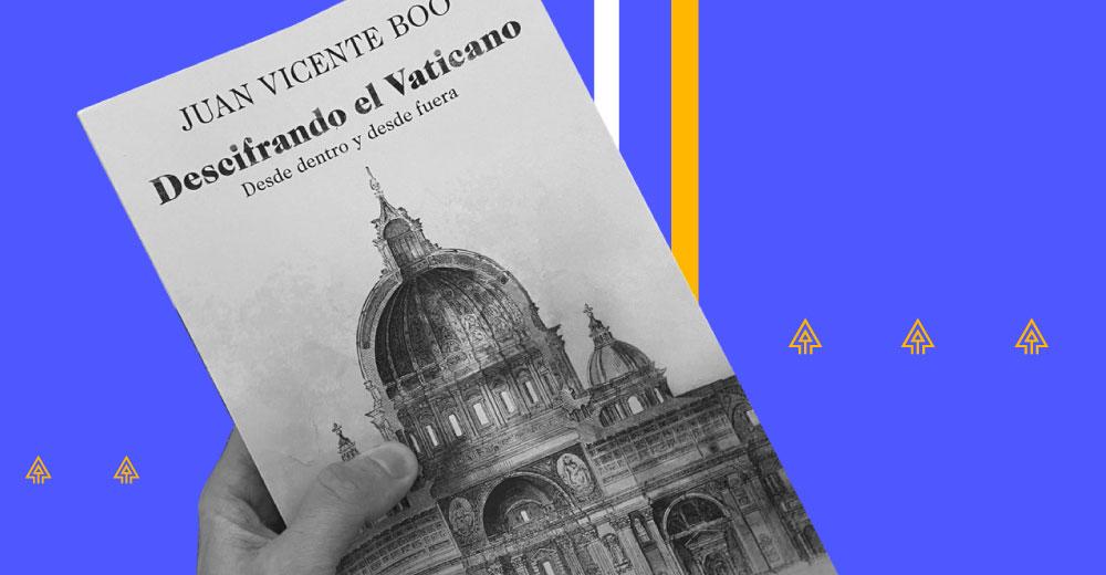 22 MAR | Presentación del libro: «Descifrando el Vaticano»