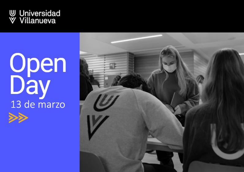 13 MAR| Nuevo Open Day en Villanueva