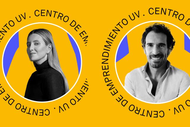 Centro de Emprendimiento: Coloquio entre Borja Vázquez y Sofía Paramio